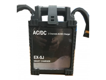 AC/DC  2 Channels EX-SJ SMART CHARGER