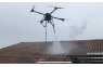 Professional aerial spraying Drone Soft Wash Roof Cleaning , LAVADO